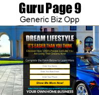 This guru page can be customized