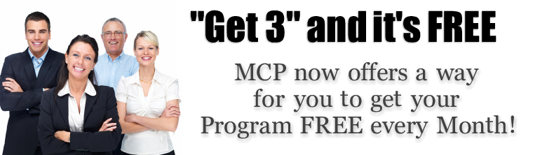 Get 3 and it's Free